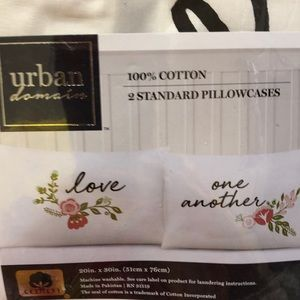 Love one another pillow cases